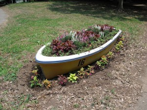 ボート花壇